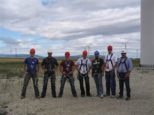 Permanent Workforce at Judith Gap, MT Wind Farm