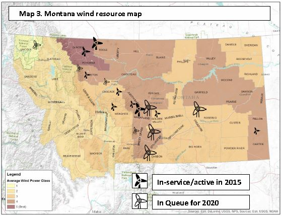Link to Map of Montana present and proposed wind projects