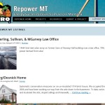 Picture of RePower MT website