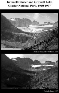 Melting Grinnell Glacier, MT