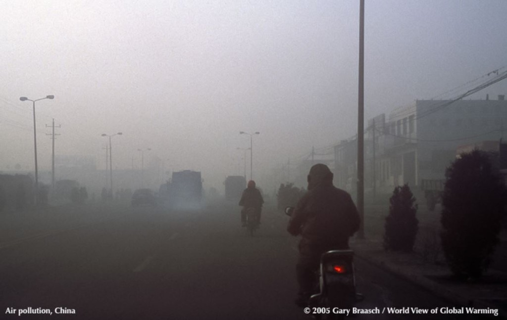 Picture of Chinese air pollution