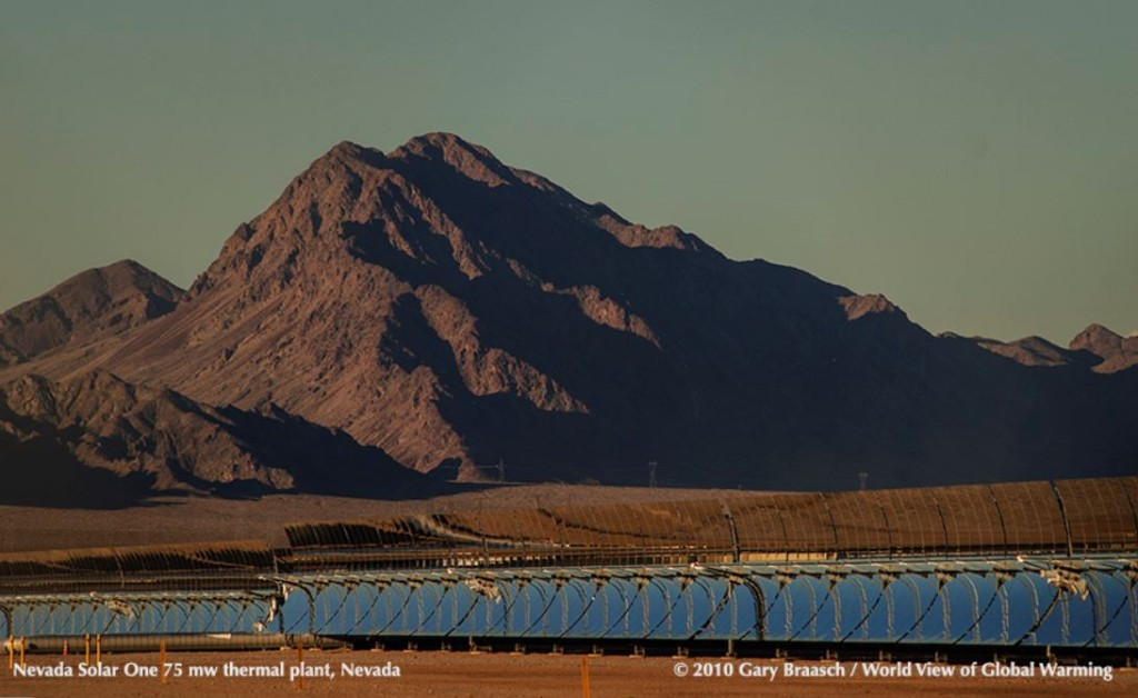 Photo of Solar 1 power plant in Nevada