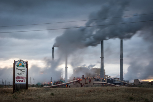 Coal-fired Electric Plants, Colstrip, MT